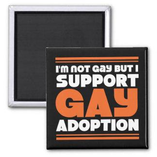 Support Gay Adoption Fridge Magnets