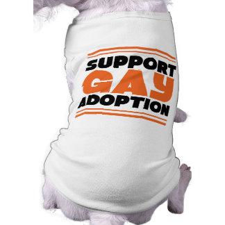 Support Gay Adoption Pet T-shirt