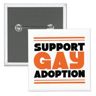 Support Gay Adoption Pin