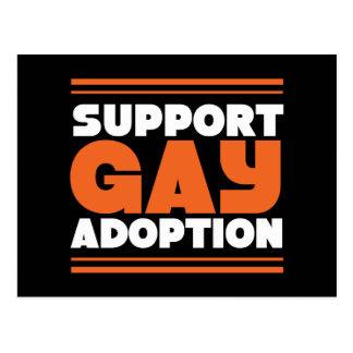 Support Gay Adoption Postcard