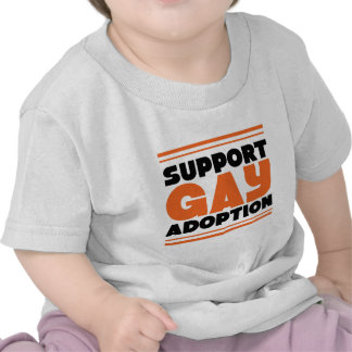 Support Gay Adoption T Shirts