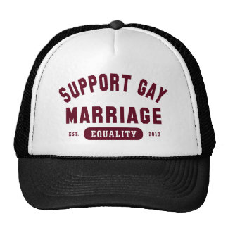 Support Gay Marriage Equality Hat