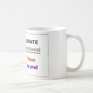 Support Gays and Lesbians Mug