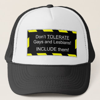 Support Gays and Lesbians Trucker Hat