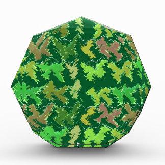 Support Green - Deep Jungle Art by Navin Award