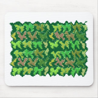 Support Green - Deep Jungle Art by Navin Mouse Pad