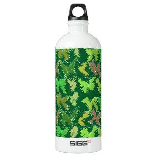 Support Green - Deep Jungle Art by Navin SIGG Traveler 1.0L Water Bottle