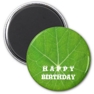 Support Green, Save the Planet 2 Inch Round Magnet