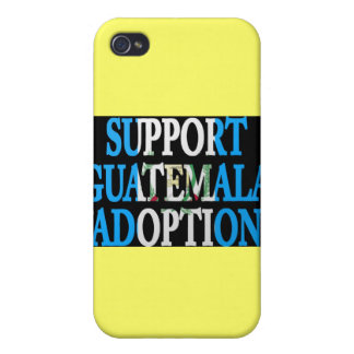 support guatemala adoption iPhone 4 cases
