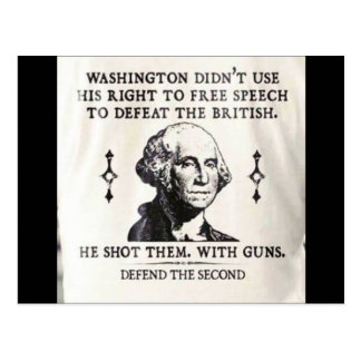 Support Gun Ownership Postcard