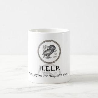 Support H.E.L.P. Coffee Mug