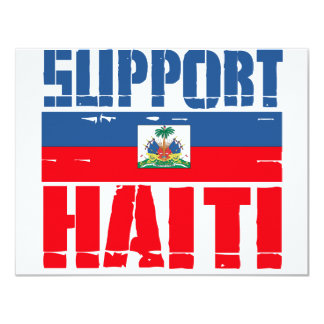 Support Haiti Personalized Announcements
