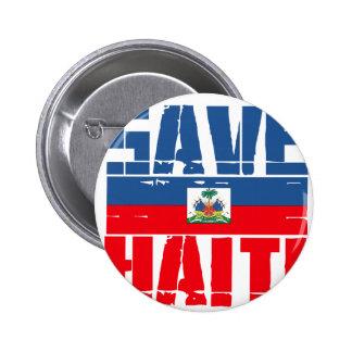 SUPPORT HAITI PINBACK BUTTON