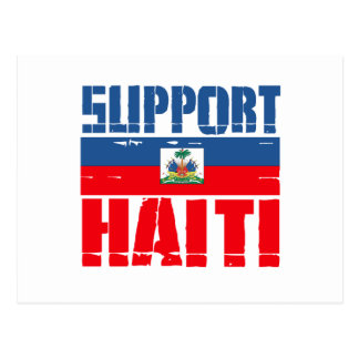 Support Haiti Post Cards
