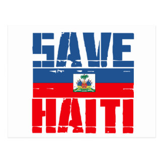 SUPPORT HAITI POSTCARD