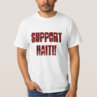 Support Haiti! T-Shirt