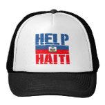 SUPPORT HAITI TRUCKER HAT