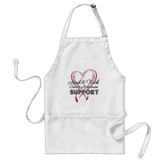 Support Head and Neck Cancer Awareness Adult Apron