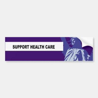 SUPPORT HEALTH CARE BUMPER STICKER