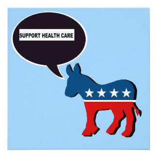 SUPPORT HEALTH CARE PERSONALIZED INVITATION