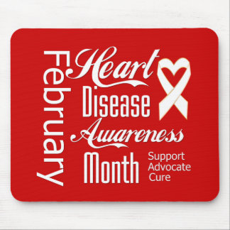 Support Heart Disease Awareness Month Mouse Pad