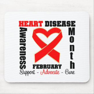 Support - Heart Disease Awareness Month Mouse Pad