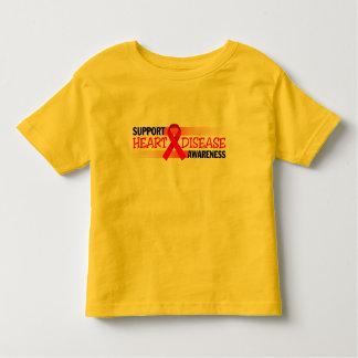 Support Heart Disease Awareness Toddler T-shirt