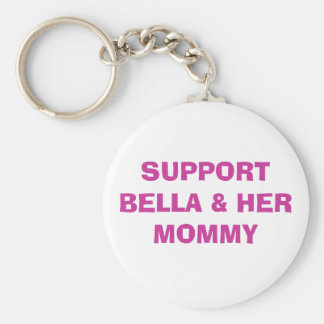 SUPPORT  & HER MOMMY KEY CHAIN