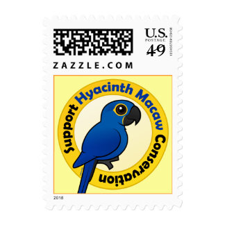 Support Hyacinth Macaw Conservation Postage