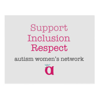 Support Inclusion Respect Postcard