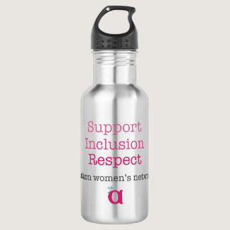 Support Inclusion Respect Water Bottle