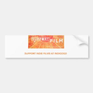 Support Indie Films Bumper Sticker