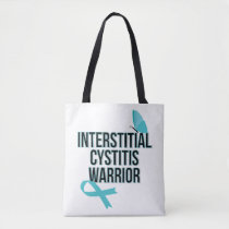 Support Interstitial Cystitis Awareness War Tote Bag