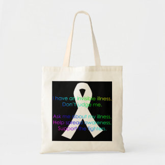 Support Invisible Illness Awareness - totes