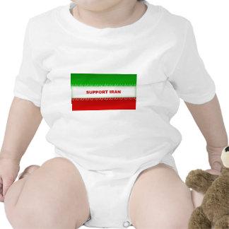 Support Iran Baby Bodysuits