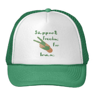 Support Iranian freedom Hat