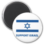 Support Israel 2 Inch Round Magnet