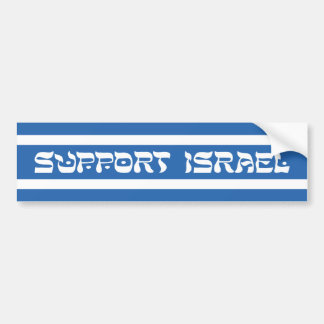 Support Israel Bumper Stickers