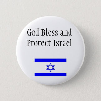 Support Israel Button/Pin Button
