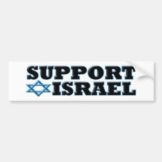 Support Israel Car Bumper Sticker
