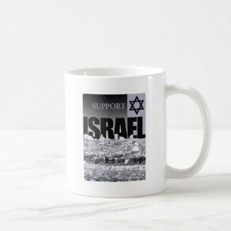 Support Israel Classic White Coffee Mug