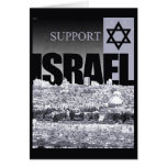 Support Israel Greeting Cards