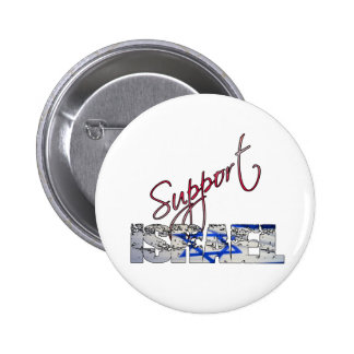 SUPPORT ISRAEL PINBACK BUTTON