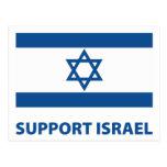 Support Israel Postcard