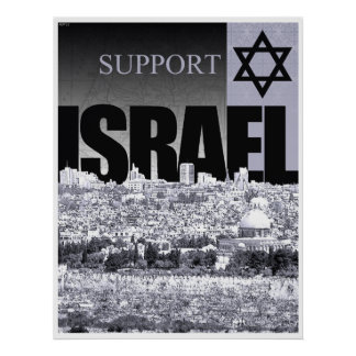 Support Israel Posters