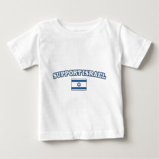 Support Israel with Flag Baby T-Shirt