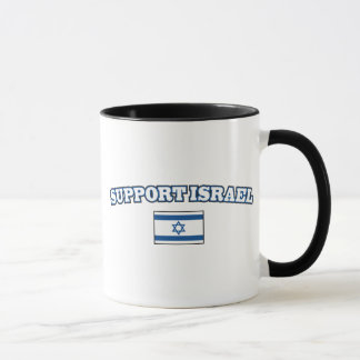 Support Israel with Flag Mug