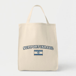 Support Israel with Flag Tote Bag