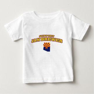 Support Jan Brewer Baby T-Shirt