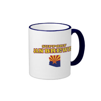 Support Jan Brewer Coffee Mugs